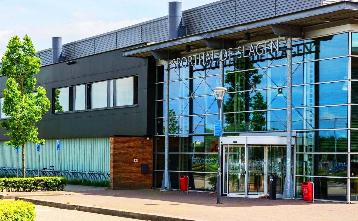 Startlocatie: Sporthal De Slagen Waalwijk